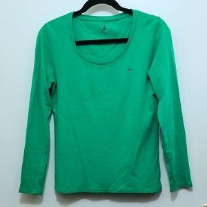 Bright Green Long Sleeve T-shirt